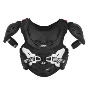 Leatt Chest Protector 5.5 Pro HD Junior Black White zbroja