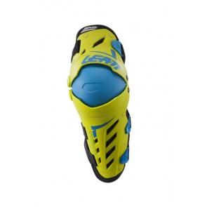 Leatt Knee & Shin Guard Dual Axis Lime Blue ochraniacze kolan