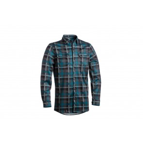 Dartmoor 2018 Koszula techniczna z długim rękawem Checker XL zielony