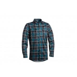 Dartmoor 2018 Koszula techniczna z długim rękawem Checker L zielony