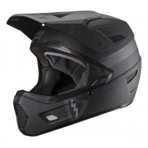 Leatt DBX 3.0 DH V19.2 Black kask-L
