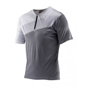 Leatt DBX 1.0 HALF-ZIP Slate jersey-S