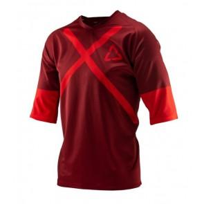 Leatt DBX 3.0 Ruby jersey 3/4
