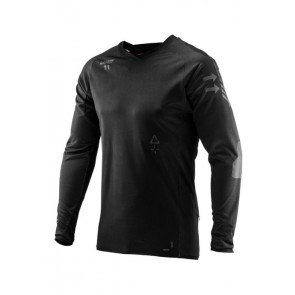 Leatt DBX 5.0 All-Mountain Black jersey