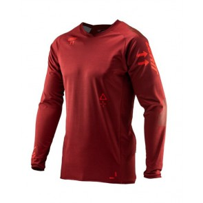 Leatt DBX 5.0 All-Mountain Ruby jersey