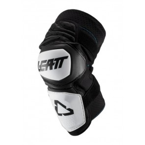 Leatt Knee Guard Enduro White Black-L/XL