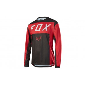 Fox 2017 Indicator LS MOTH red/black M #promo