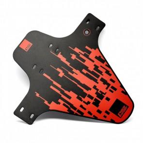 Błotnik przedni RACEFENDER Pixel czerwony + zip