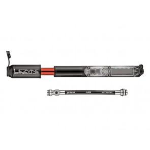 Lezyne 2016 Digital Pressure Drive HP S ABS pompka ręczna 120psi 170mm czarna + cyfrowy manometr