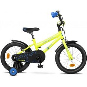 """Accent Puzzel 16"""" rower dziecięcy-zielony"""