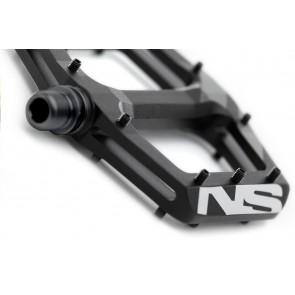 NS Bikes 2016 Radiance Flat pedały czarne