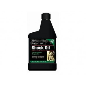 Finish Line Olej SHOCK OIL do amortyzatorów 470ml 2,5 wt