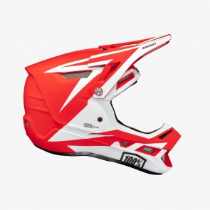 Kask full face 100% AIRCRAFT COMPOSITE Helmet Rapidbomb/Red roz. XL (61-62 cm) (NEW)