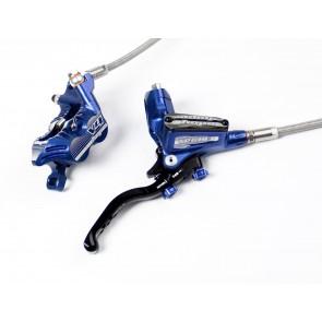 Hope Hamulec Tech 3 V4 Niebieski Przód