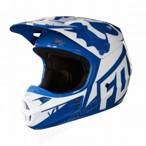 Kask FOX V1 Race S niebieski