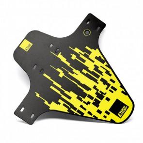 Błotnik przedni RACEFENDER Pixel żółty + zip