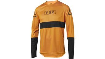 Koszulka Rowerowa Fox Z Długim Rękawem Defend Fox Atomic Orange L