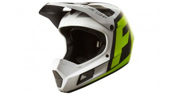 FOX 2017 Rampage Comp CREO white/yellow L kask